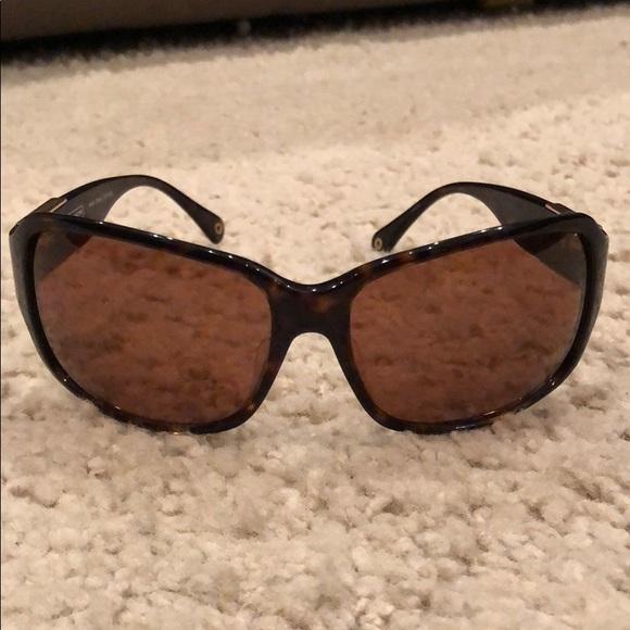 652f3eda595d ... clearance euc coach nina tortoise sunglasses s494 da808 5d52d